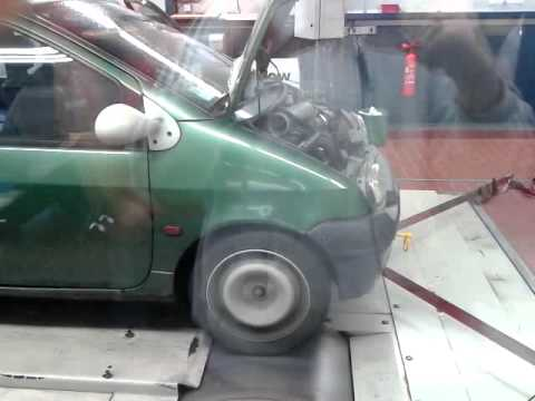 dyno run renault twingo 1 2 8v d7f youtube. Black Bedroom Furniture Sets. Home Design Ideas