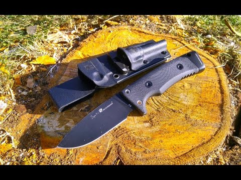 Тест ножа HX OUTDOORS Survival Straight Knife D2