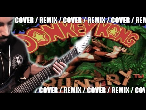 Donkey Kong Country - Main Theme | METAL COVER