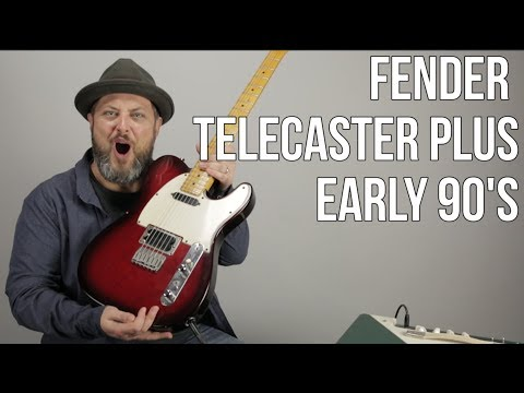 Fender Telecaster Plus From The Early 90's  Jonny Greenwood Style