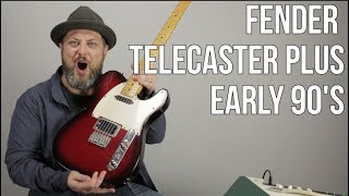 Fender Telecaster Plus From The Early 90's - Jonny Greenwood Style