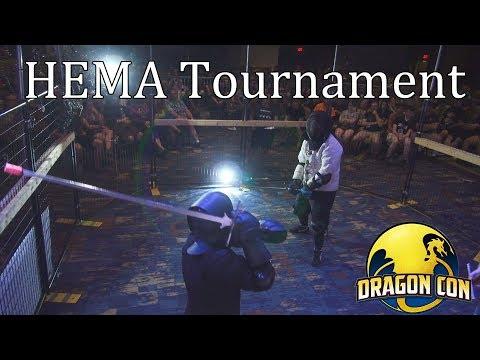 HEMA Tournament - Dragon Con 2017