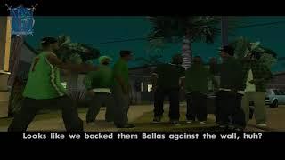 تختيم لعبة GTA San Andreas الحلقة 21 مهمة الحفلة في منزل اوجي لوك  (HD)