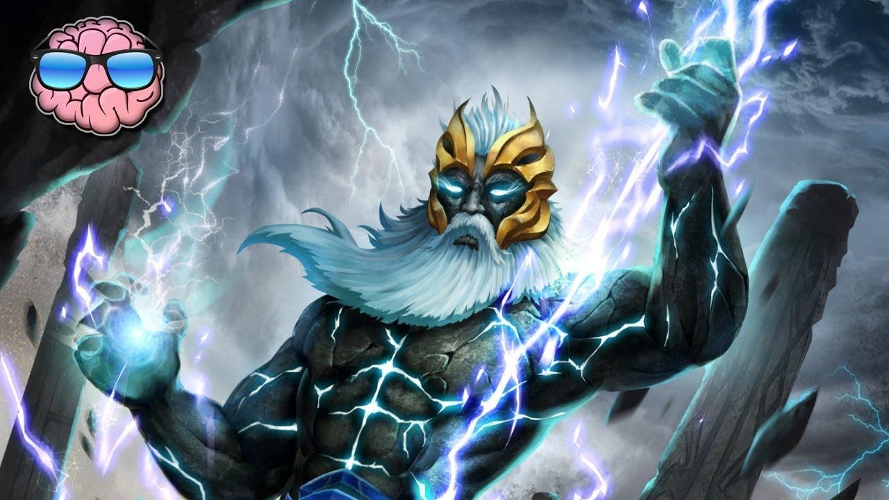 Top 10 Most Powerful Gods Of Mythology Zeus Odin Youtube
