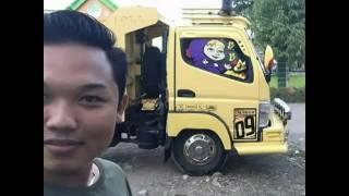 Video kumpulan truck gaya bugis sulawesi