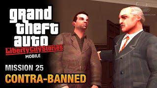 GTA Liberty City Stories Mobile - Mission #25 - Contra-Banned
