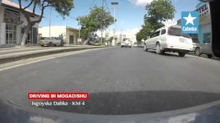 DRIVING IN MOGADISHU: ISGOYSKA DABKA - KM 4