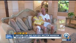 Anyone can bid for $20 million mansion