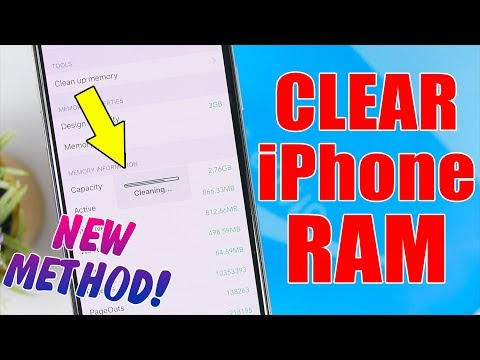 How To Clear iPhone RAM Memory * NEW Method *