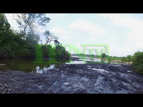 Ogoniland; Drone Shots of oil polluted sites