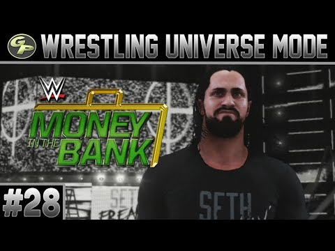 WWE 2K18 Universe Mode | MONEY IN THE BANK | #28 | Albany, NY