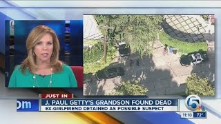 J. Paul Getty's grandson found dead