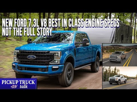 How does the new 7.3L V8 Engine Compare? Next-Gen Ford Superduty Engine