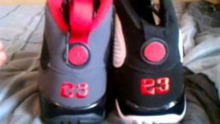 Repeat youtube video Jumpinjordans.com Jordan 9 real vs fake comparison