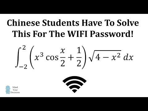 Students In China: Solve A Math Problem For Internet Access!