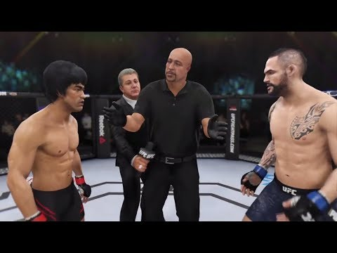 Bruce Lee vs. Santiago Ponzinibbio (EA Sports UFC 3) - CPU vs. CPU