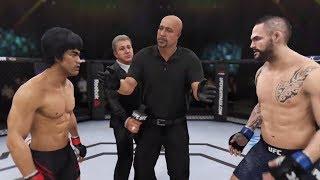 Bruce Lee vs. Santiago Ponzinibbio (EA Sports UFC 3) - CPU vs. CPU