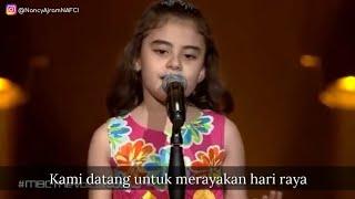 Ghina Lagu penderitaan anak Suriah Palestina