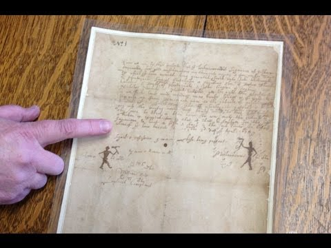 Exeter History Minute  Wheelwright Deed