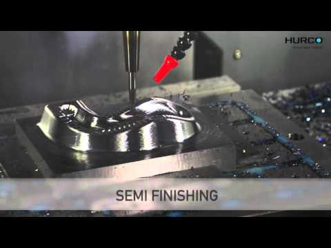 HURCO HIGH SPEED VMC VMX24HSi MACHINING GOLF CLUB CAVITY