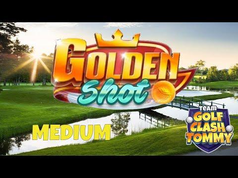 Golf Clash tips, Golden shot - ¤Medium¤ - 6 shots! GUIDE/TUTORIAL