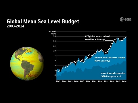 Contributors to sea-level rise