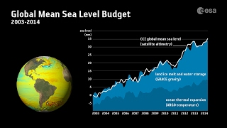 Contributors to sea-level rise thumbnail