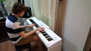 "Richard Clayderman - ""Hungarian Sonata"" piano cover by Huan Tran"