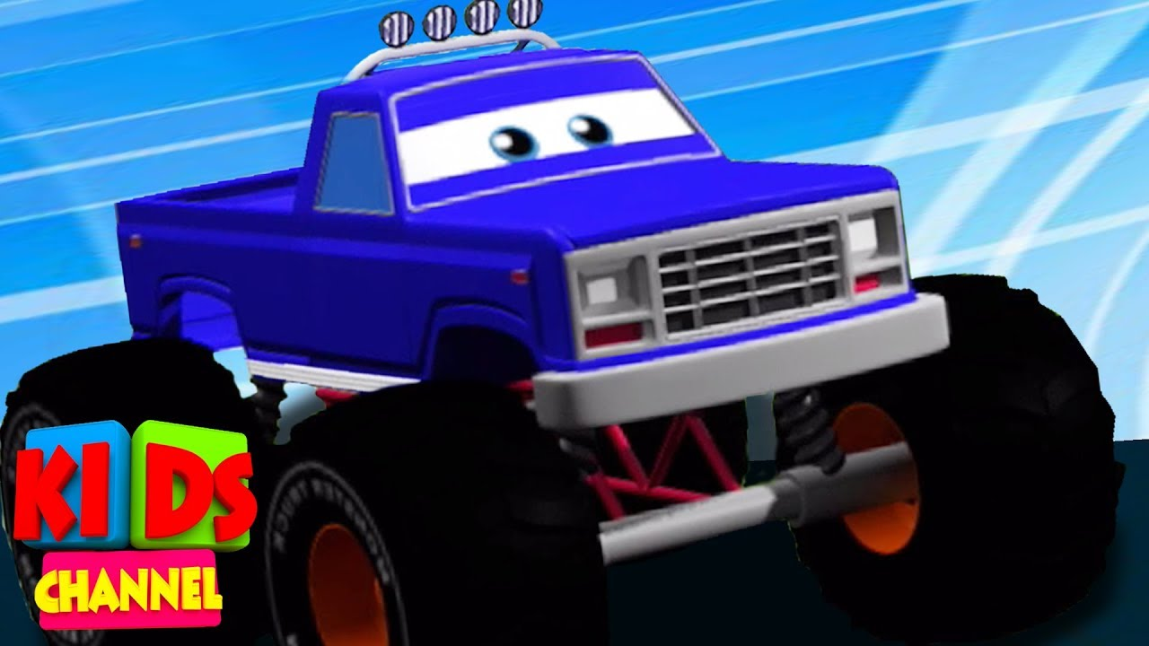 Monster Truck Formation & Uses | Vehicle Videos For Babies by Kids Channel trucks