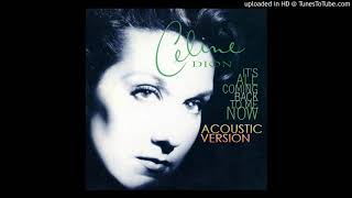 Gambar cover Celine Dion - It's All Coming Back To Me Now (Acoustic Version)