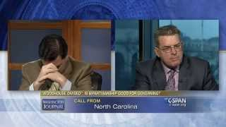 Brothers Brad and Dallas Woodhouse get an unexpected call from their mother during Washington Journal appearance. Watch the complete segment here: ...