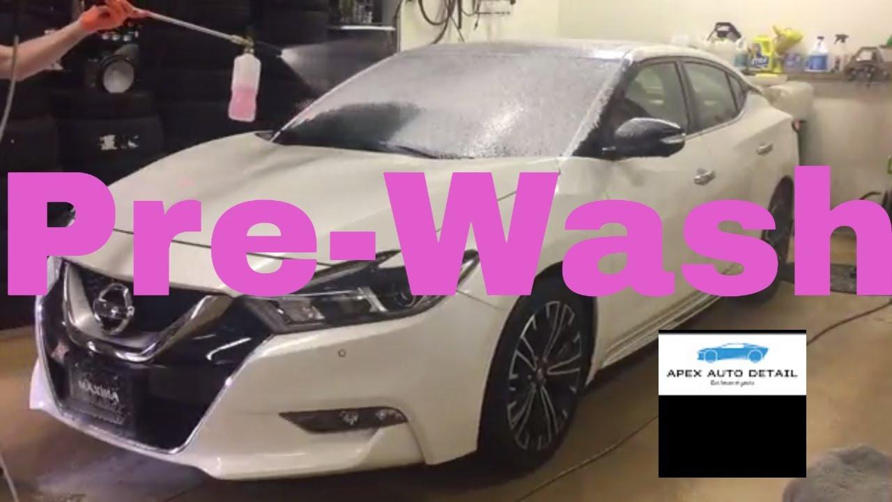 Pre Wash Recipe New Car Traffic Film Remover And Snow Foam