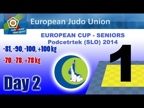 European Cup Seniors - Podcetrtek (SLO) 2014 - Day 2