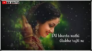 Hindi love song status ❤️ // Tu thodi der or therja soniya❤️ // KK edit's karoli 😎 // shratha Kapur