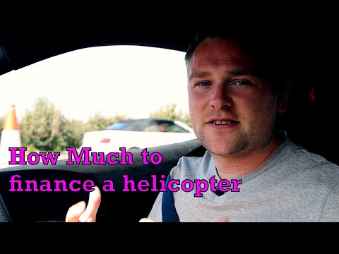 How much does it really cost to finance a helicopter?