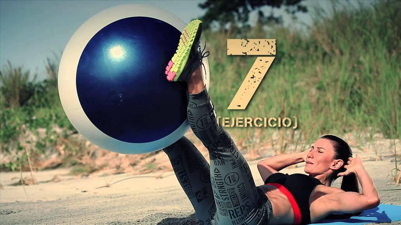 Nany Sevilla - Rutina para Abdomen fuerte y plano -Reebok