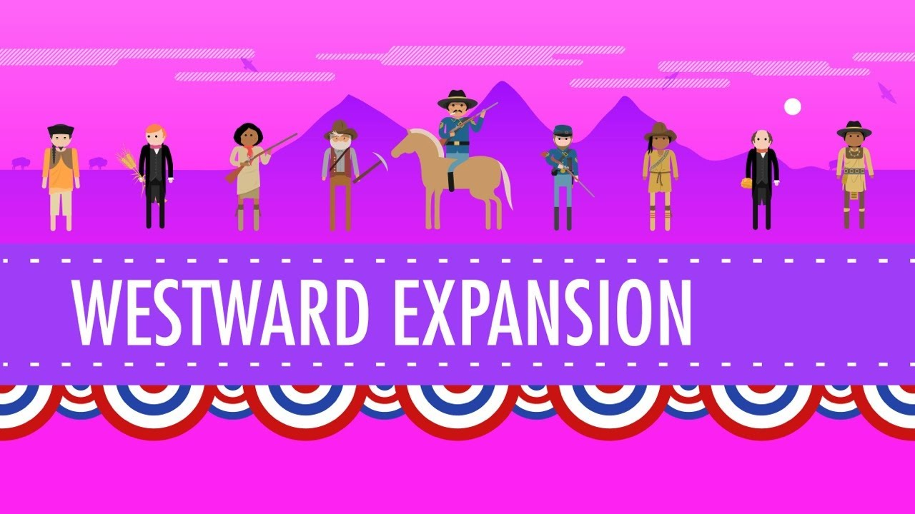 westward expansion crash course us history 24 youtube