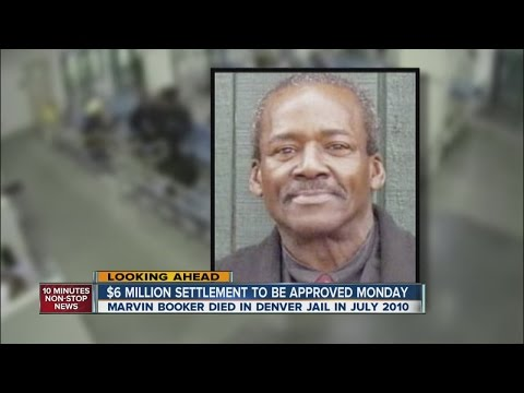 Denver to pay $6M settlement in death of jail inmate