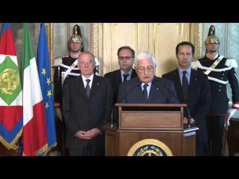 Il laconico comunicato del Quirinale sulle dimissioni di Enrico Letta