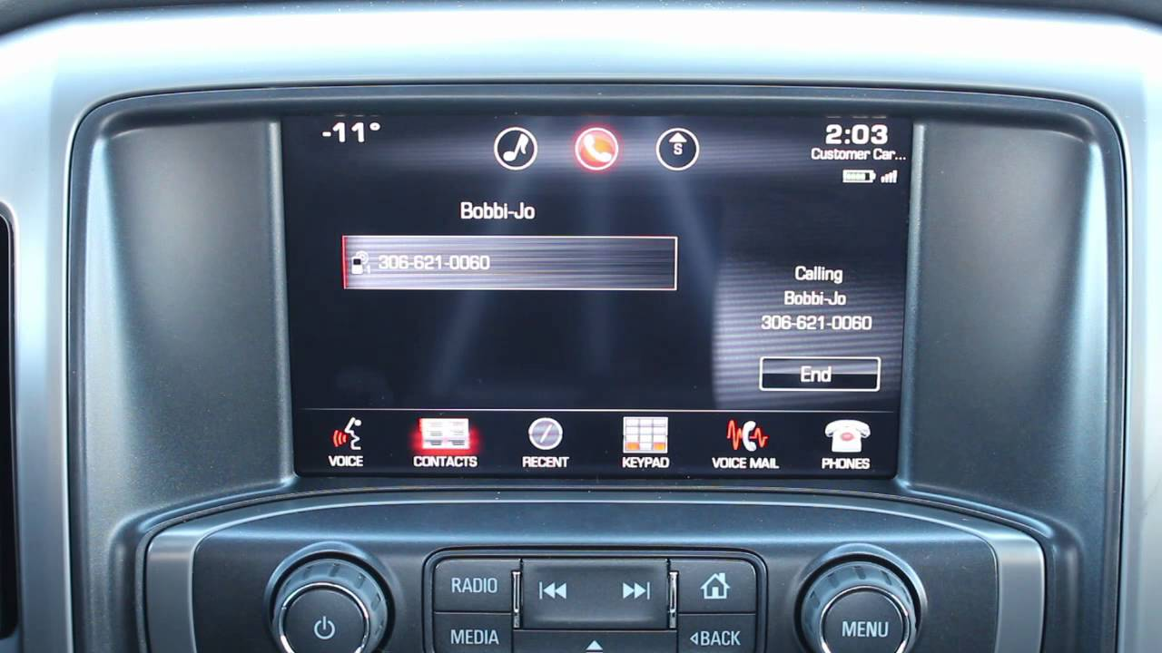 Touch Screen Basics Next Gen Chevrolet Silverado Gmc