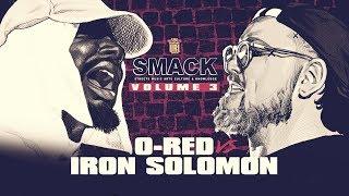 IRON SOLOMON VS O RED + DANNY MYERS TALKS CHEF TREZ BATTLE VOL 4 (2-9-19) | URLTV
