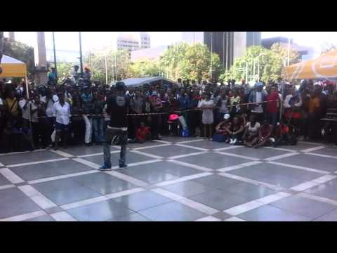 Blow's performance at the State theatre Pretoria