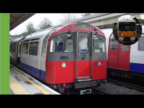 District and Piccadilly lines at Barons Court