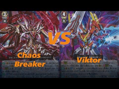 Cardfight!! Vanguard Link Joker(Chaos Breaker) vs Nova Grappler(Viktor)