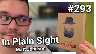 Les avis d'Alexis #293 - In Plain Sight de Matt Johnson