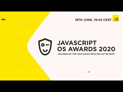JavaScript Open Source Awards 2020