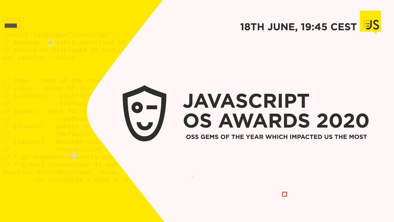 JavaScript Open Source Awards 2020