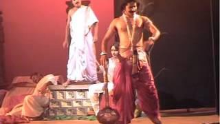 Yogesh Master_Gada Yuddha, a part of Rannana Kavi Charite, a Kannada play