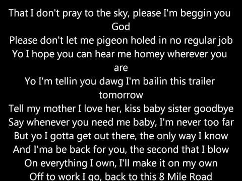 8 mile road w/lyrics.wmv