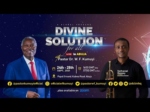 Day 1    Divine Solution Global Crusade    24th September 2021